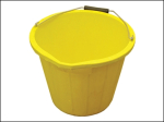 3 Gallon 14 Litre Yellow Bucket