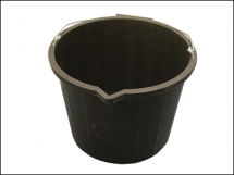 3 Gallon 14 Litre Black Bucket