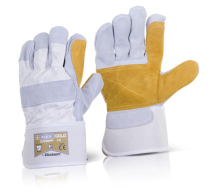 Pair Canadian Rigger Gloves Double Palm High Quality