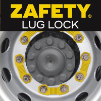 Zafety Lug Lock Wheel nut locking device