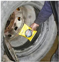 Commercial vehicle Wheel Balancing